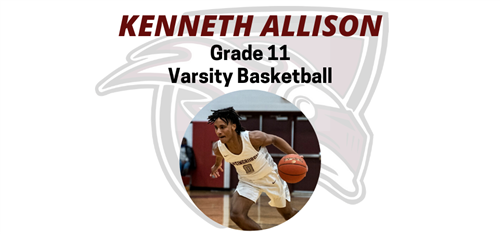 Student Athlete of the Week - Kenneth Allison