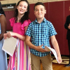 Fifth grade Moving-Up Ceremony