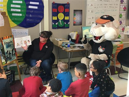 Read Aloud Day at Rensselaer Park