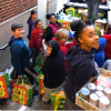 Middle School Student Council Food Drive