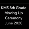 Virtual 8th Grade Moving Up Ceremony