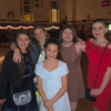 Students at Snowball Dance