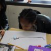 Students work with Ozobots